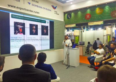 Intersec 2018 г-н Мухаммед Али Альмхери, начальник отдела Полиции Дубая