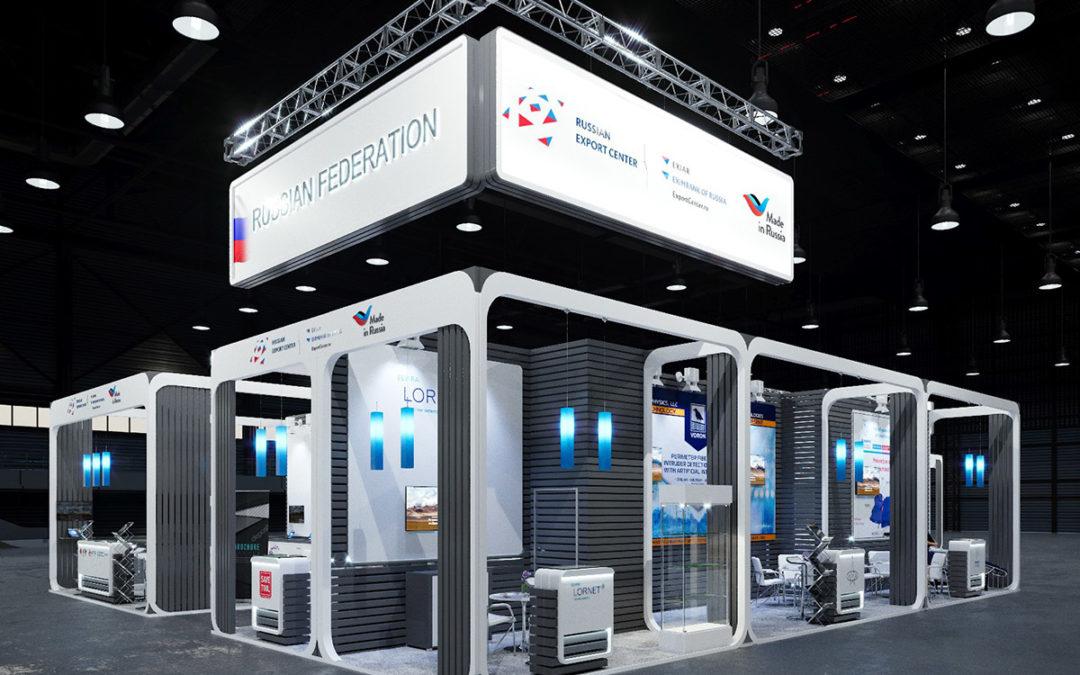 Российский павильон на выставке INTERSEC 2018 под эгидой РЭЦ