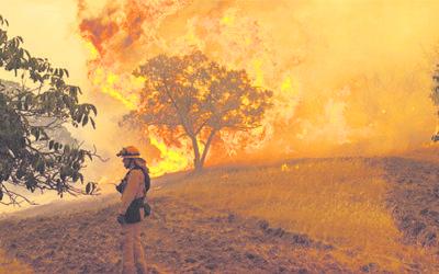Как тушат гигантские пожары